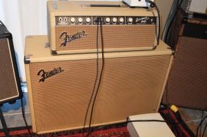 Famed 1963 6G6B Fender Bassman amp