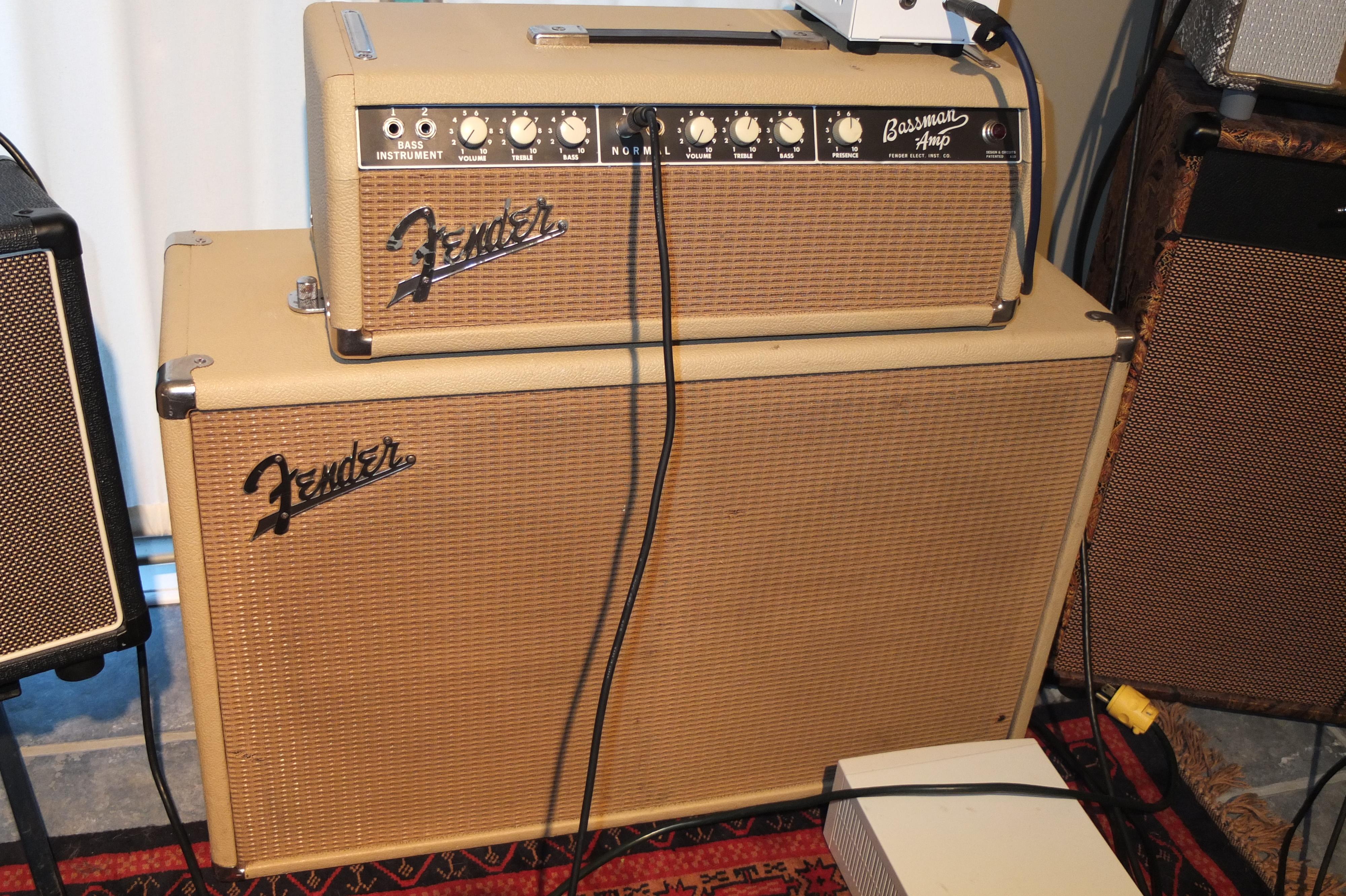 blue hugh 39 s blog the 63 blonde bassman the setzer amp. Black Bedroom Furniture Sets. Home Design Ideas