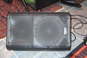 QSC K10 1000 watt powered speaker